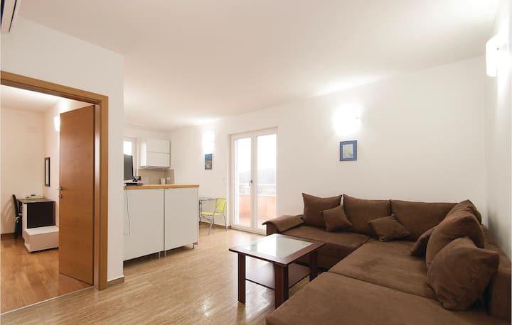 Awesome home in Rovinj with 1 Bedrooms
