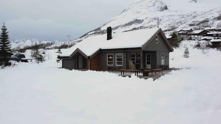Ny og moderne hytte til utleie i attraktiv område