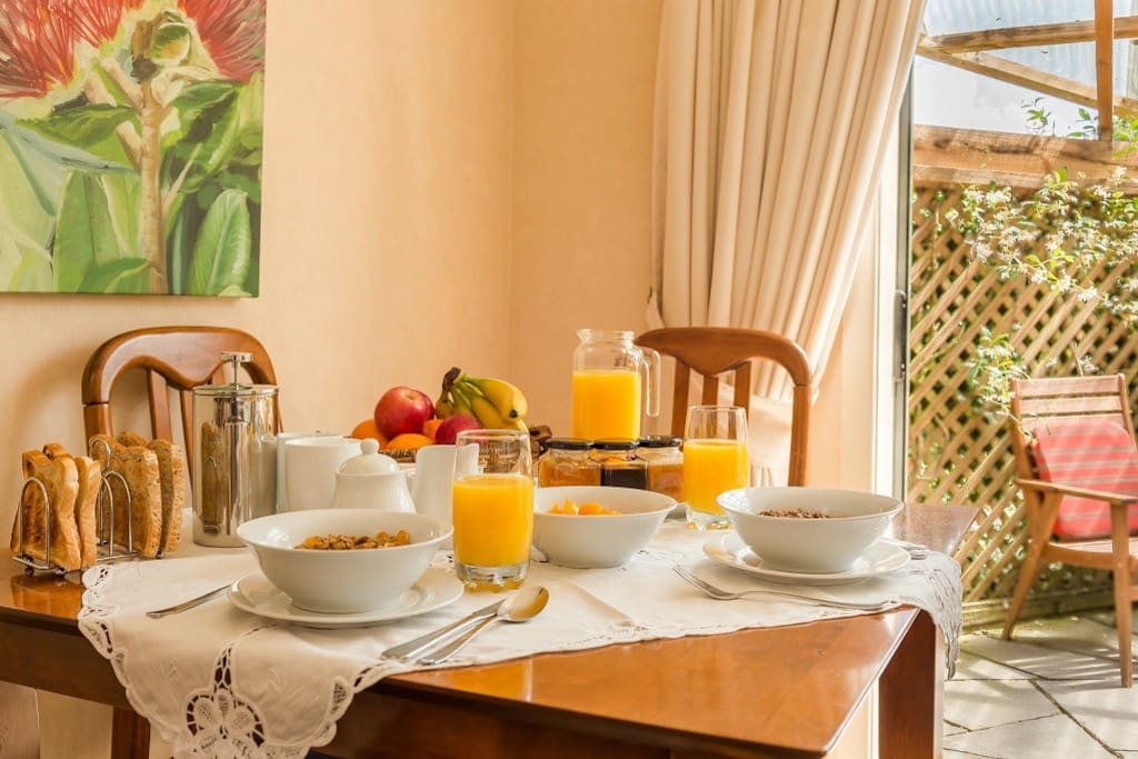 Complimentary breakfast ingredients provided  - enjoy when & where it suits you!