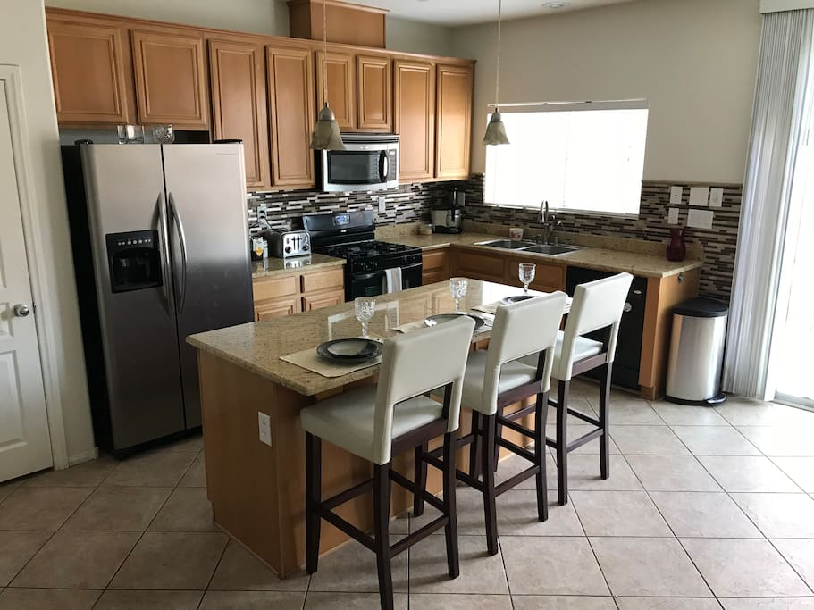 Kitchen free to use fully