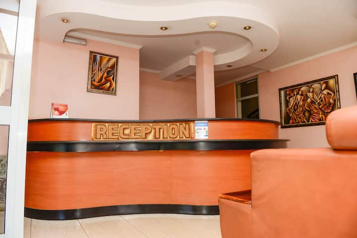 Have a wonderful stay in your Junior Suite wail in Kigali.