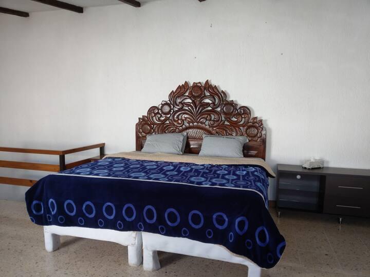 Excelente ubicación habitación en le campestre
