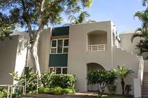 Property entrance - top floor