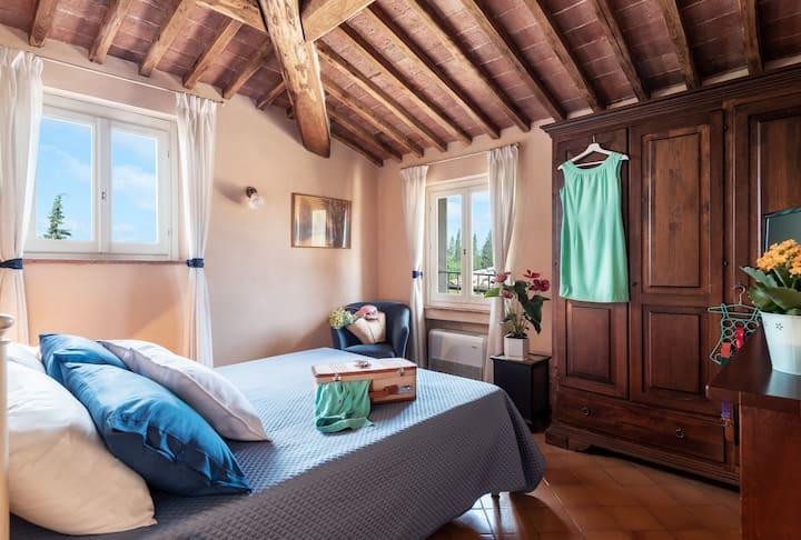 """Apartment in historic Villa in Siena_""""Il Campo"""""""