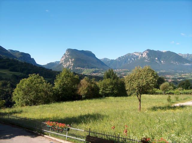 Relax&Panorama sulle Giudicarie - Villa Banale - Lägenhet
