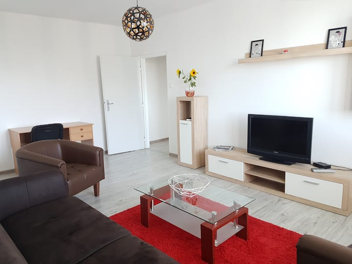Spacious flat in wider centre of Nitra