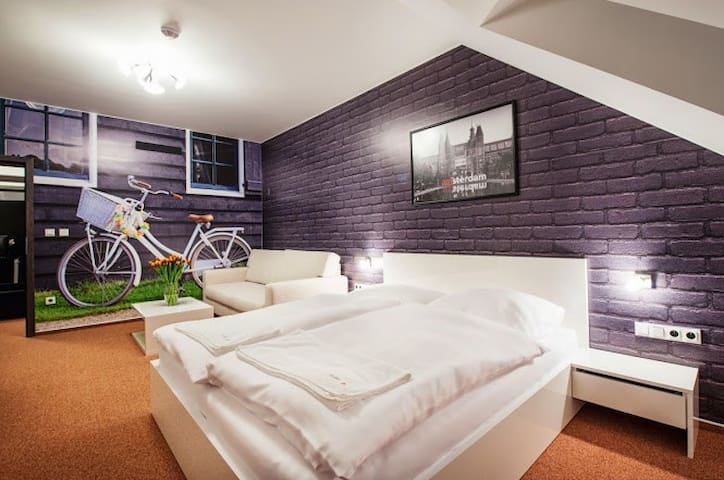 Brand new guest house with wellness and fitness - Uherský Ostroh - 家庭式旅館
