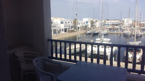 Bel appartement Cap Marina Monastir