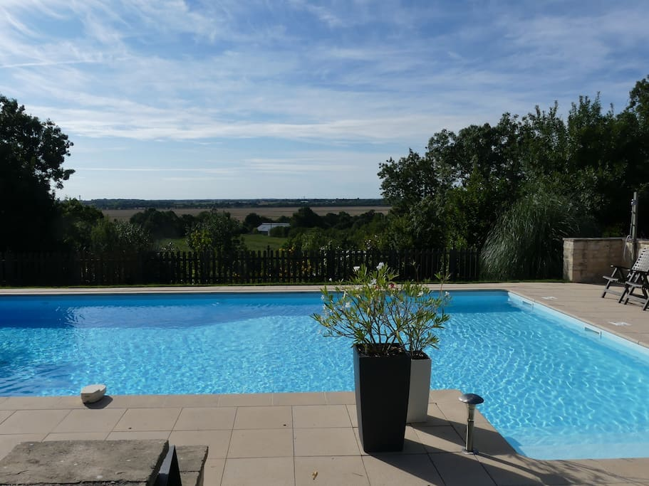 12m x 7m heated pool