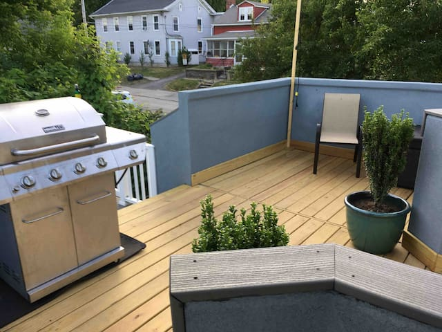 Private Suite with Freshly Renovated Roof Deck