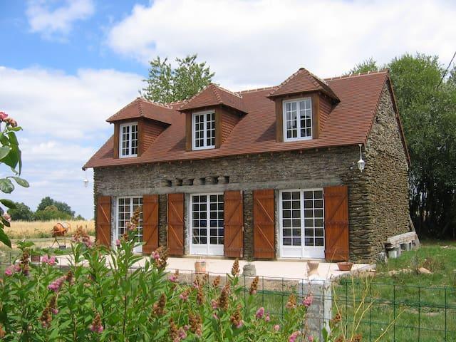 Jolie maison en pierre en Berry Sud - Saint-Plantaire - Rumah