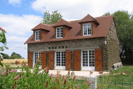 Jolie maison en pierre en Berry Sud - Saint-Plantaire