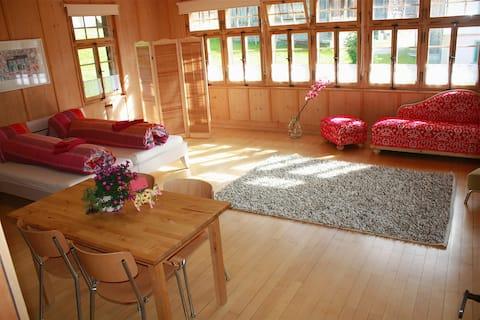 Helle, grosse Suite in Bergdorf