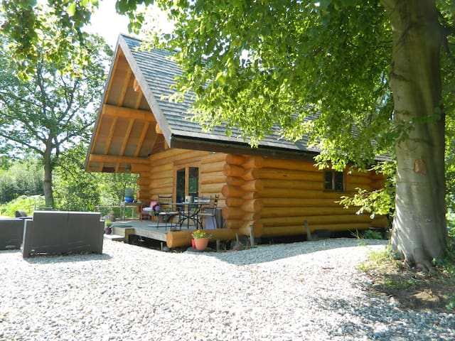 Traditional Log Cabin in the Lakes - Cumbria - Stuga
