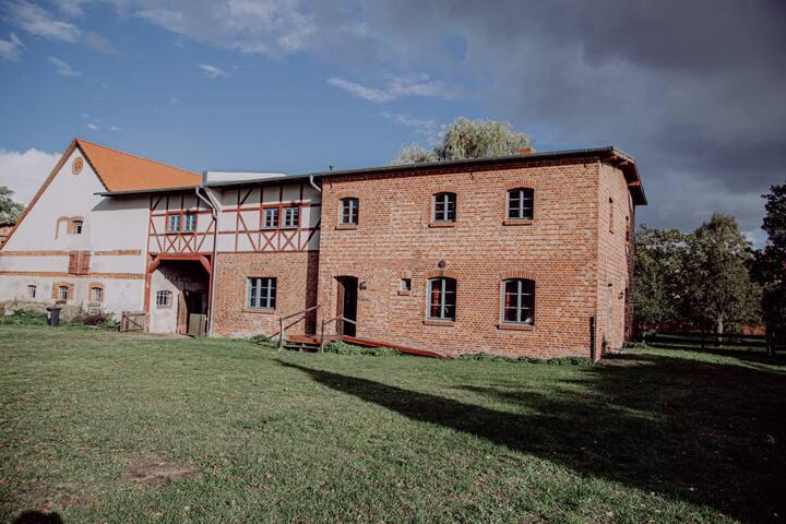 Gästehaus im Schlossensemble in der Uckermark