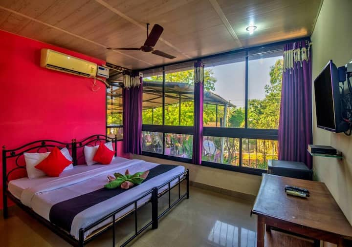 Double Room with Garden View @ Azure De Goa
