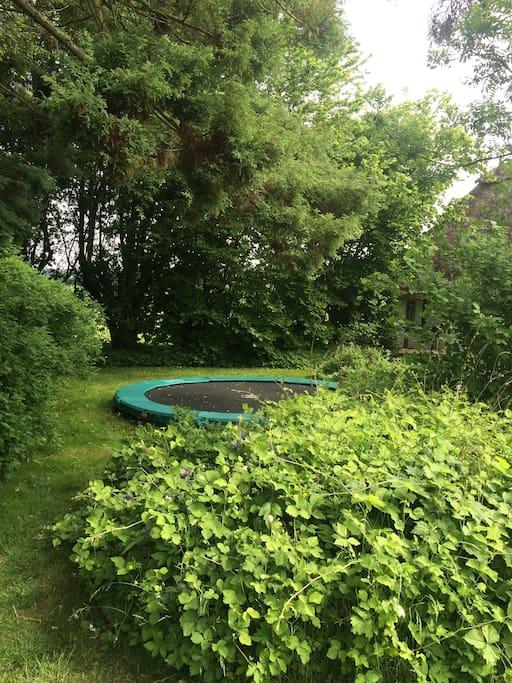 Den nedgravede trampolin