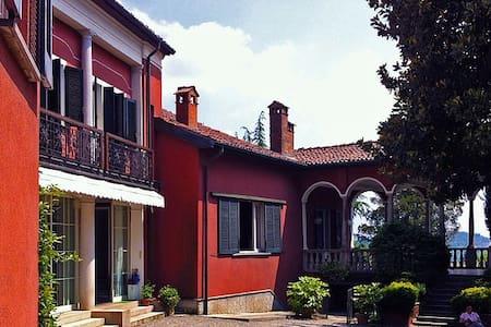 Villa Magnolia with garden Lago Maggiore