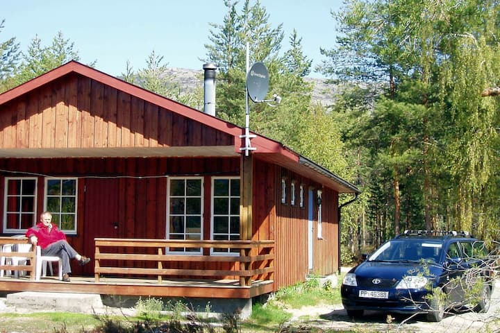 8 personas casa en VRÅDAL