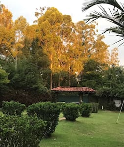 Linda chácara em Itatiba, encanto! - Itatiba - Blockhütte
