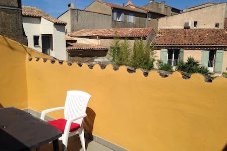 Studio avec terrasse tropezienne - Cogolin - Apartamento