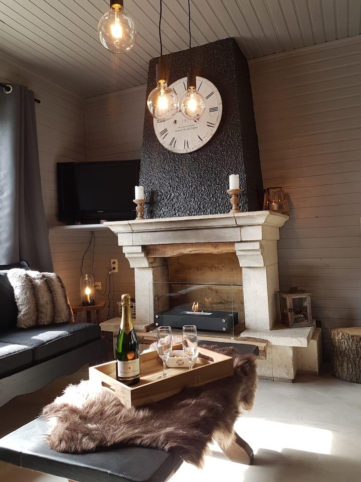 Durbuy Cosy Villa pour 21 personnes avec sauna