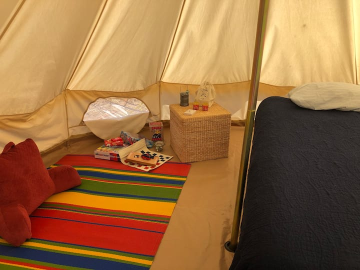 Game Night Bell Tent