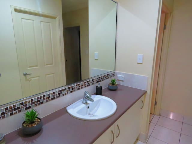 Guest wash basin and powder room