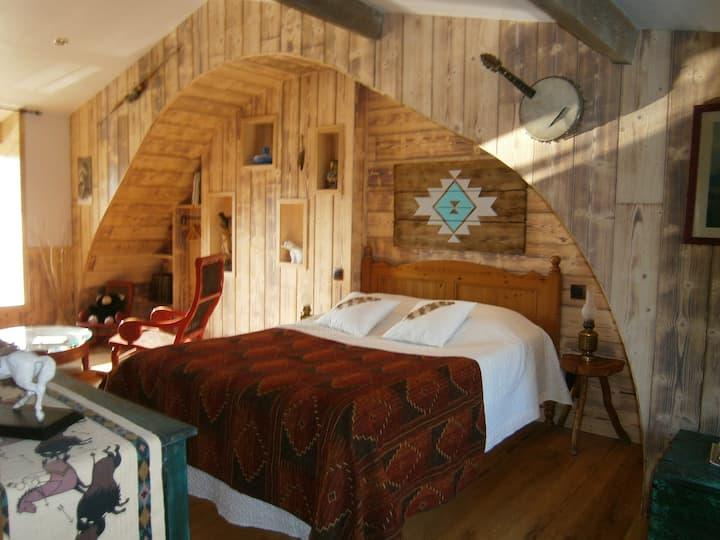 chambre d'hôte déco amérindienne(west littleranch)