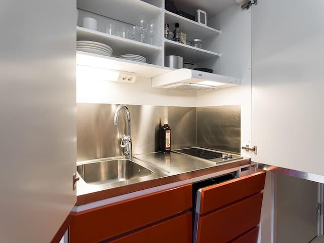 Studio apartment in central Stockholm
