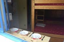 Le petit dortoir des Volets bleus