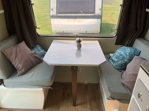 Romantische caravan voor 2