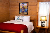 Ranch House - Bedroom #1 - One Double Bed - Ground Level