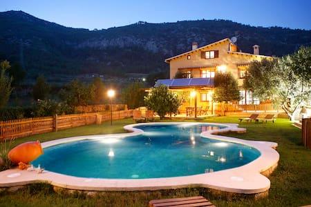 Villa Coast Barcelona Pool & Barbacue. Up to 28p - Canyelles