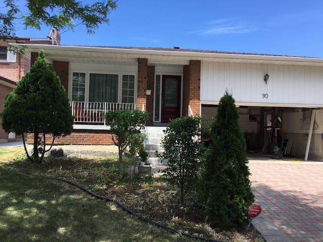 Clean, comfortable and private apartment - Toronto - Daire