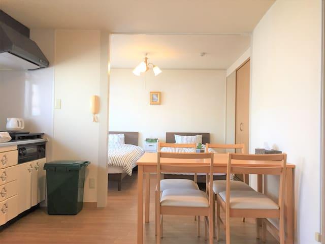 Namba in 6 min. Clean&Safety *Wi-fi *Large #B - Chūō-ku, Ōsaka-shi - Apartment