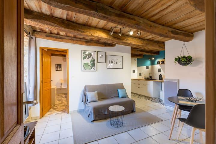 Appartement entier au centre de Crémieu.