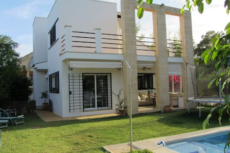 Beautiful house with garden and swimming pool - El Santiscal - Ház