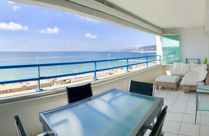 Sea Front, Panoramic View, Large Terrace & Garage