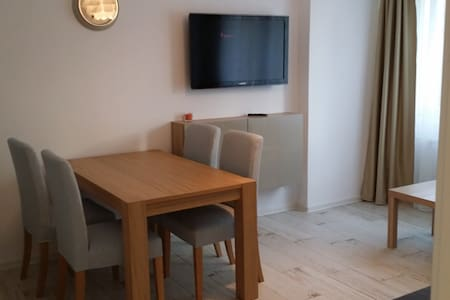 New Apartment near the center, Cable TV/WiFi Free