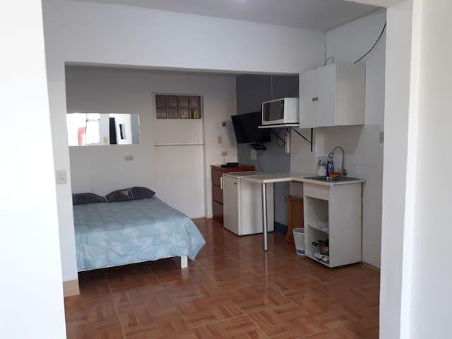 Minidepartamento privado a 30m del centro de Lima