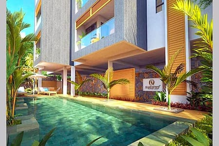 Penthouse with Personal Rooftop & Jacuzzi Seaview - 佛力克昂佛勒克(Flic en Flac) - 公寓