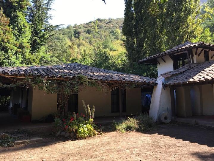 Casa Cajón del Maipo , Cordillera de Los Andes