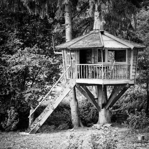 Baumhaus- Luftschloss/treehouse
