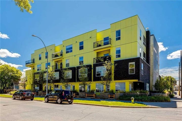 Near downtown bright and modern entire condo unit