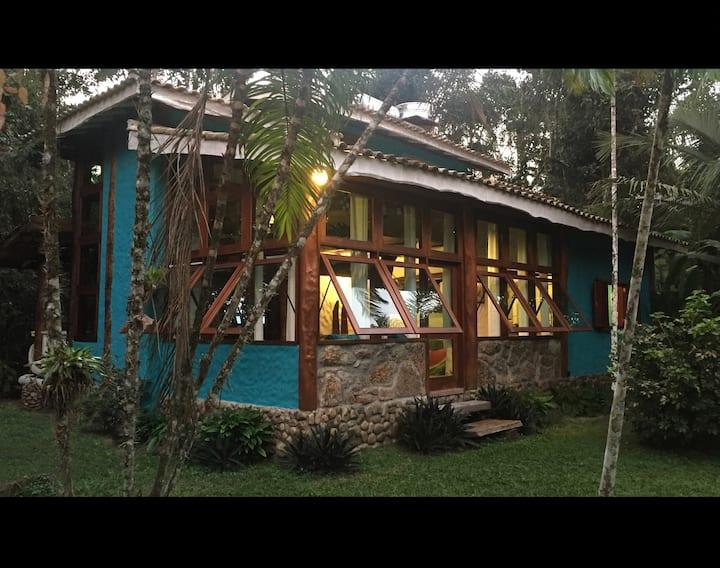 Refúgio  do Trapiche entre Paraty e Ubatuba