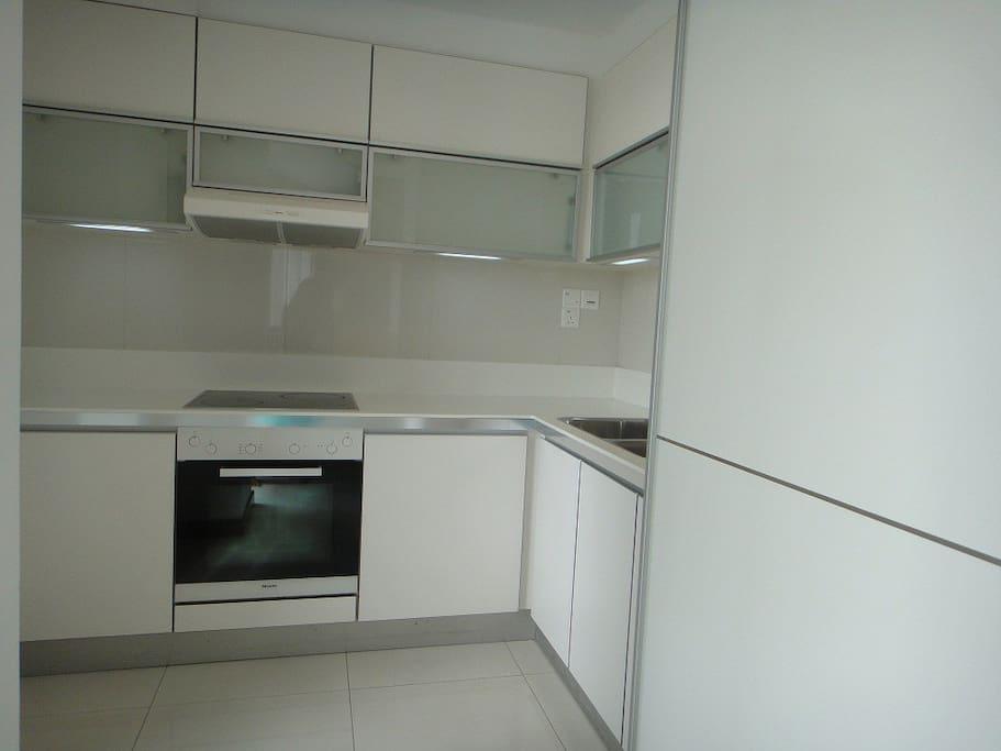Option 3 - shared kitchen