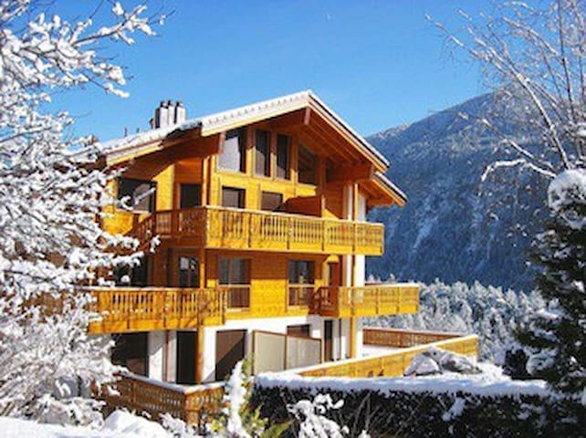Belmont 104 - chalet appartement - Salvan - Byt