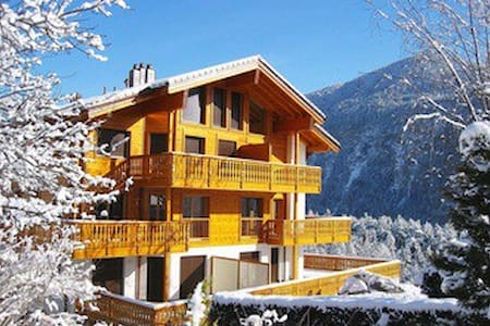 Belmont 104 - chalet appartement - Salvan