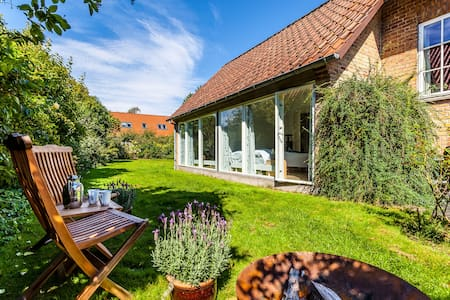 Bright, quiet & lovely w. garden in Aarhus - Aarhus - Appartamento